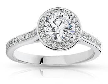 Halo Diamond Rings  Available At Diamond World