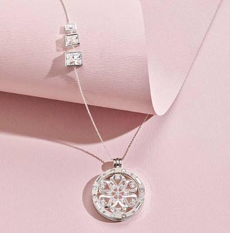 Diamond Pendants available at Diamond World