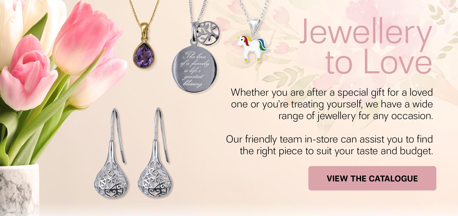 Jewellery Collection Available At Diamond World