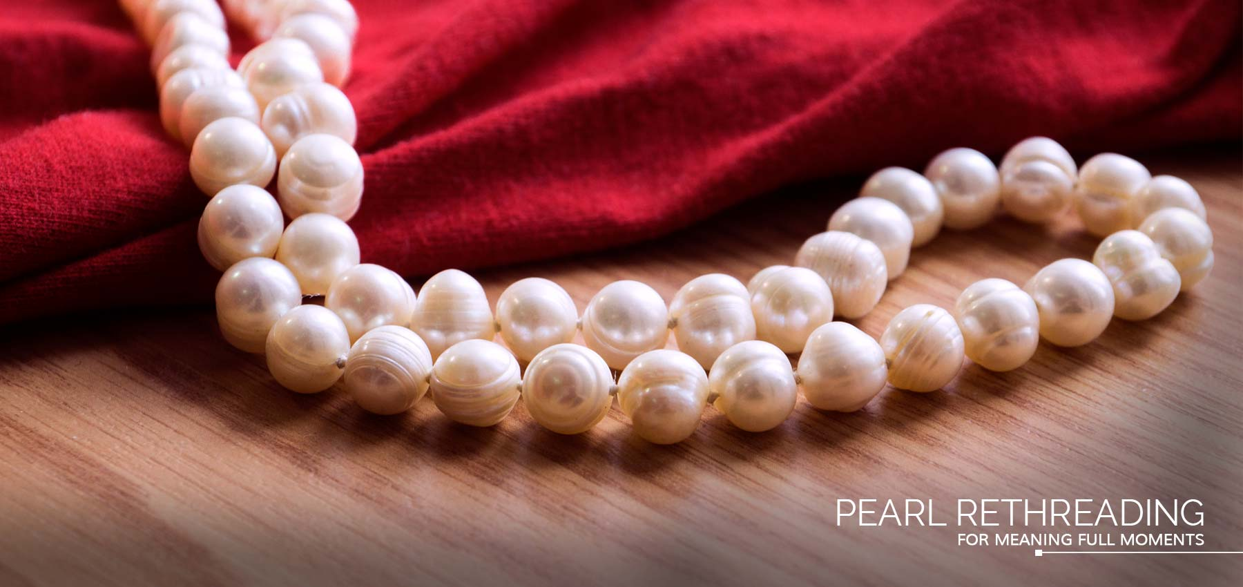 Pearl Rethreading Available At Diamond World